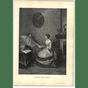 1902 H Lefler ~ Heinrich Heine Artwork