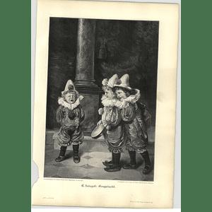 1902 E Louyot ~ Laughing Artwork