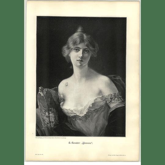 1902 H Rondel ~ Yvonne Artwork