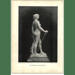 1902 Al Charpentier ~ The Winner Artwork