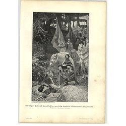 1902 B Vogel ~ Henry The Fowler Artwork
