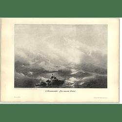 1902 J Aiwasowski ~ The Ninth Wave Artwork