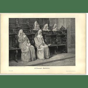 1902 E Carenghi ~ Meditation Artwork