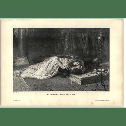 1902 V Palmaroli ~ Romeo And Juliet Artwork