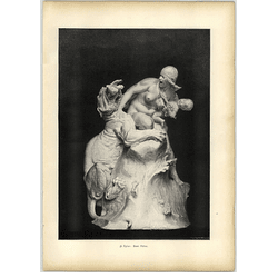 1902 H Epler ~ Two Mothers Protecting Thir Own Artwork