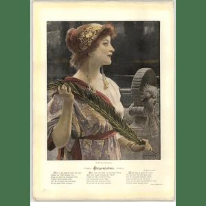 1902 A Schram ~ Victory Palm Artwork