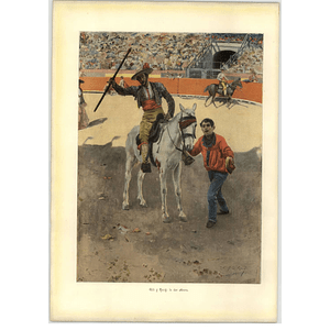1902 Gili Y Roig ~ In The Arena Artwork