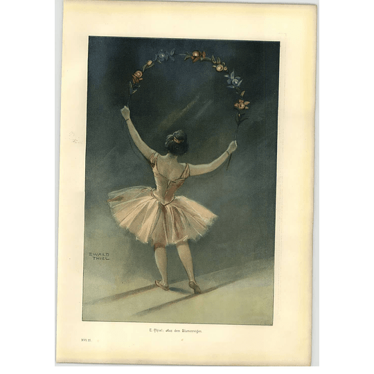 1902 E Thiel ~ From The Flowers Artwork