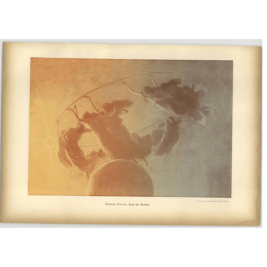 1902 Gaetano Previati ~ Dance Of The Hours Artwork