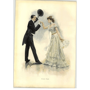 1902 E Cucuel ~ Minuet Artwork