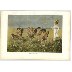 1902 G Schobel ~ A Modern Diana Artwork