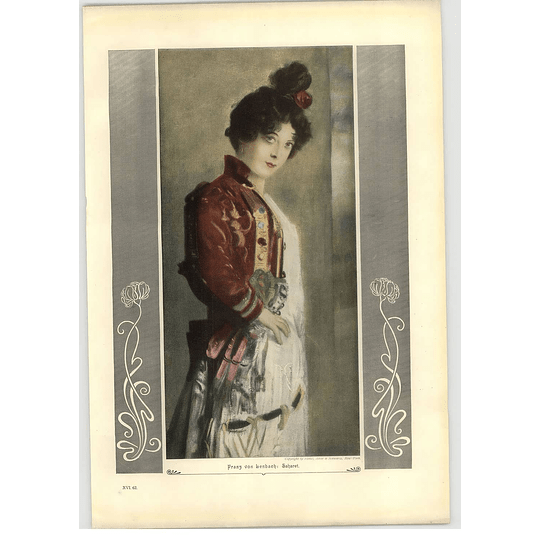 1902 Franz Von Lenbach ~ Sahara Artwork