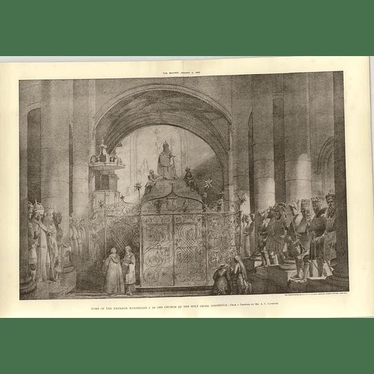 1902 Tomb Emperor Maximilian I, Church Holy Cross Innsbruck