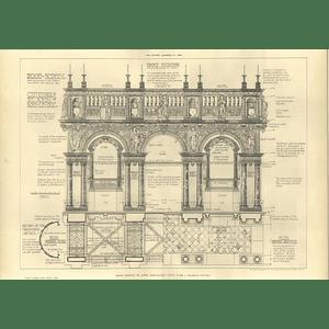 1904 Rood Screen St John, Bois-de-luc, Cathedral Swarbrick