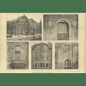 1906 New Comic Opera Buildings In Berlin