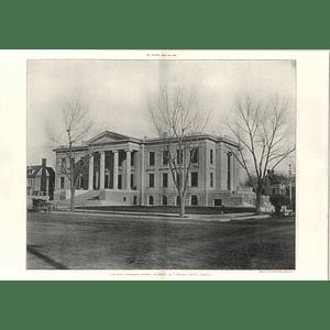 1906 City Hall, Colorado Springs Colorado T Mclaren Architect