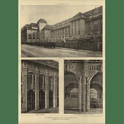 1906 Wertheim Warehouse In Berlin Alfred Massel Architect