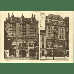 1907 Berlin Shops Jules Bister Unter Den Linden, Grisebach, Lange