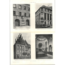 1907 Fire Brigade Station Fischerstrasse, Apothecaries Hall Friedrichstrasse