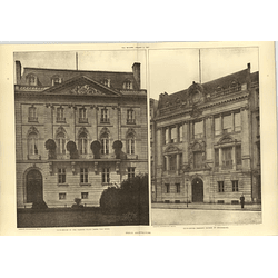 1907 Berlin Architecture Clubhouse In The Pariser Platz, Herr Von Ihne