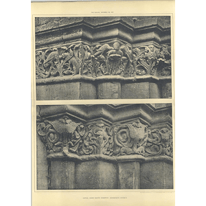 1907 Detail From The South Doorway Of Andernach Church