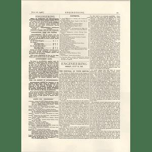 1926 Disposal Of Town Refuge, Proposed Destructors