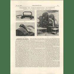 1926 Pyrometers For Surface Temperature Measurements, Cambridge Instruments