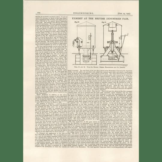 1927 Blackstone, Stamford, Fuel-oil Filter