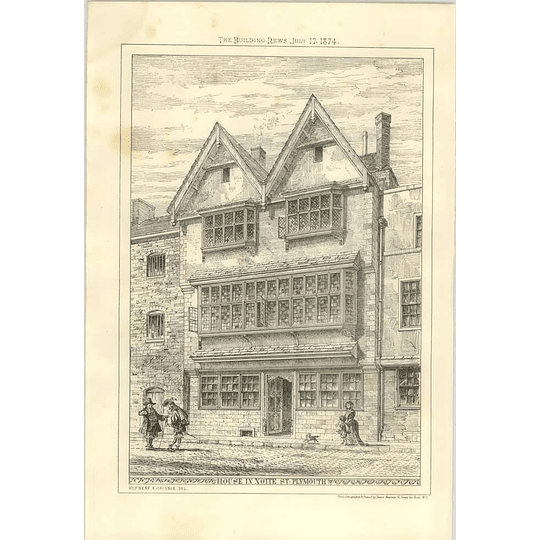 1874 House In Notte Street Plymouth