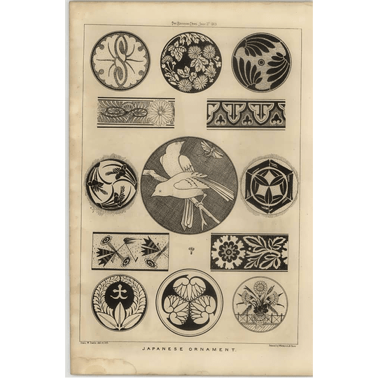 1869 Some Examples Of Japanese Ornamentation