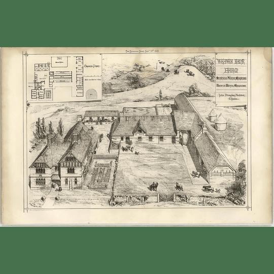 1869 Weaver Bank Farm John Douglas, Architect, Cheshire
