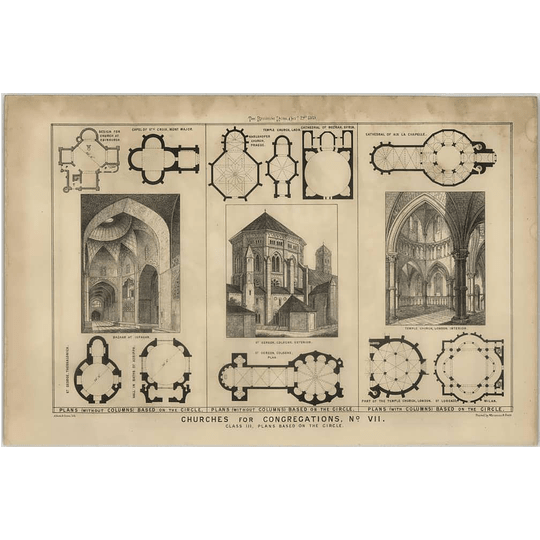 1869 Church Designs Based On The Circle