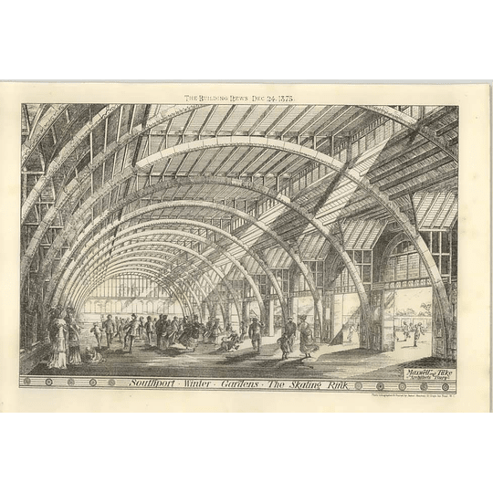 1875 Southport Winter Gardens, The Skating Rink