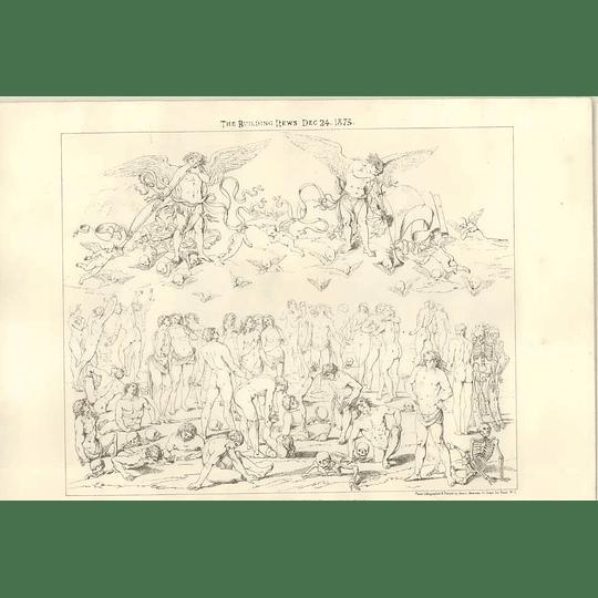 1875 Florentine Artwork, 15th Century