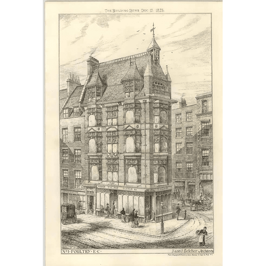 1875 No. 1, Poultry, Hosier And Glover Tighe Premises