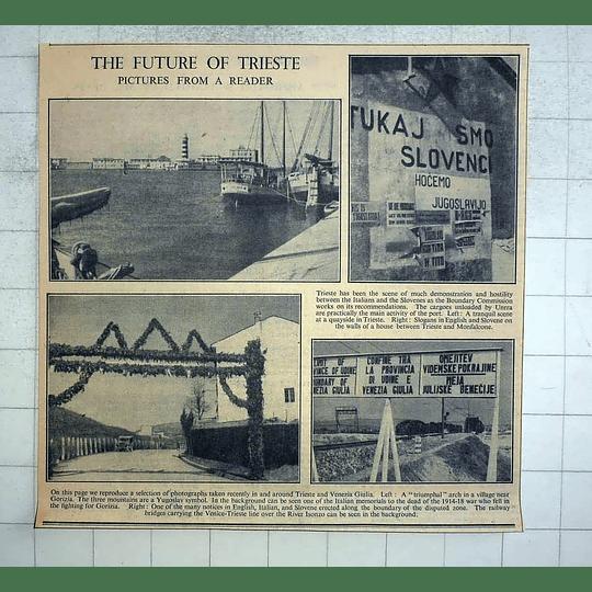 1946 Photos Round Trieste, Venezia Giulia, Disputed Zone