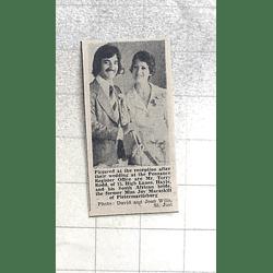 1974 Terry Rodd, Hayle Marries South African Joy Macaskill