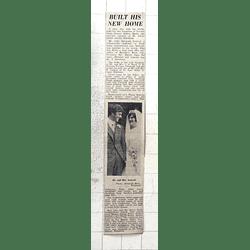 1974 Alan Ireland Redruth Marries Ann Ward, Penzance, Built Home