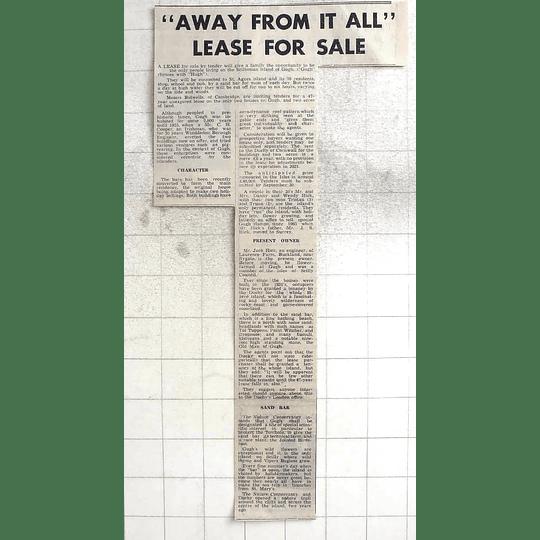 1974 Scilly Island Gugh For Sale, Bidwells, Cambridge