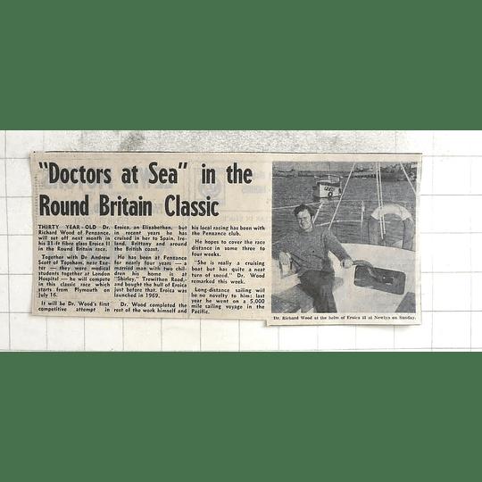 1974 Dr Richard Wood Round Britain Race Eroica Ii Newlyn