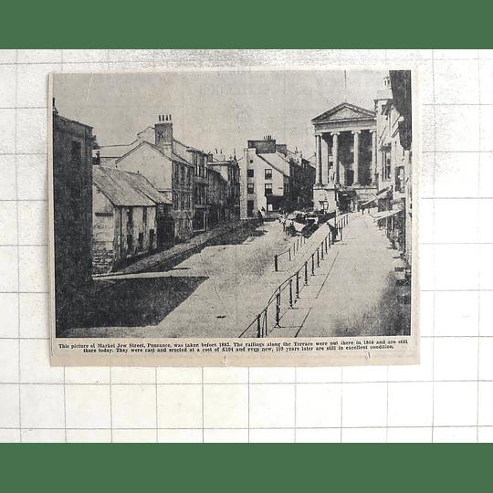 1974 Market Jew Street Penzance Before 1883