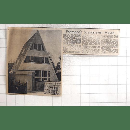 1974 Penzance Scandinavia House 9 Kings Road Geoffrey Drewitt Design