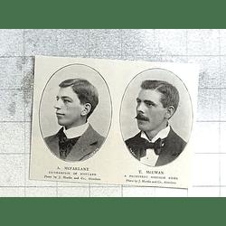 1897 Prominent Scottish Cycle Racing A Mcfarlane T Mcewan
