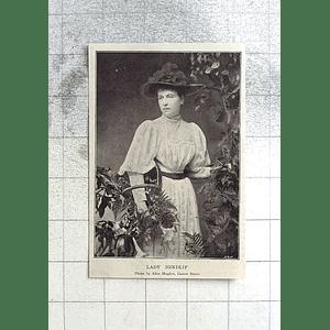 1897 Lady Hindlip Photo By Alice Hughes