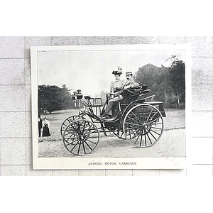1897 The Arnold Motor Carriage