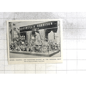 1897 Cogswell And Harrison Exhibit National Show