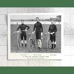 1897 English Cycle Races Ingram, Bardsley, Pw Brown