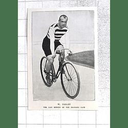 1897 W Parlby, Last Winner Of The Brassard Race, Bike