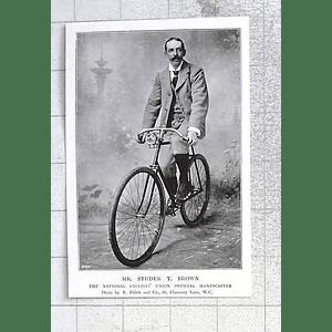 1897 Mr Studer T. Brown Cyclist Union Official Handicapper