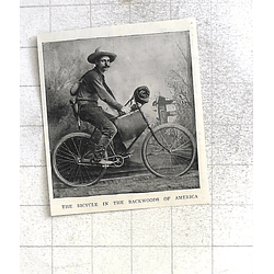 1897 The Bicycle In The Backwoods Of America